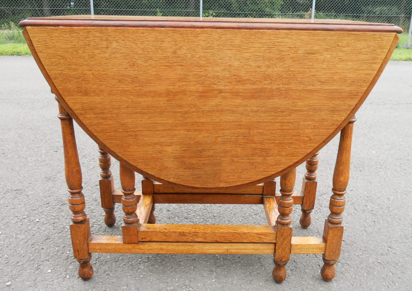Gateleg table trendy mid century modern gateleg table with folding chairs picked vintage with - Gateleg table and chairs ...