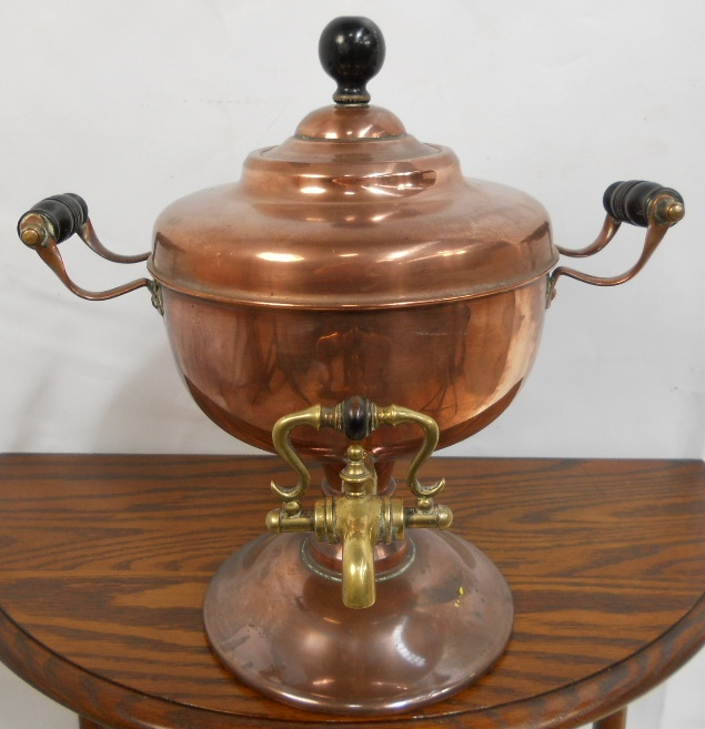 Victorian Copper Tea Urn : victorian copper tea urn 3300 p from www.affordableantiquefurniture.co.uk size 635 x 657 jpeg 170kB